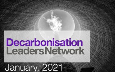 January 2021: Roadmap to Net Zero 2050